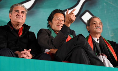 Stage set for PTI's Raiwind march