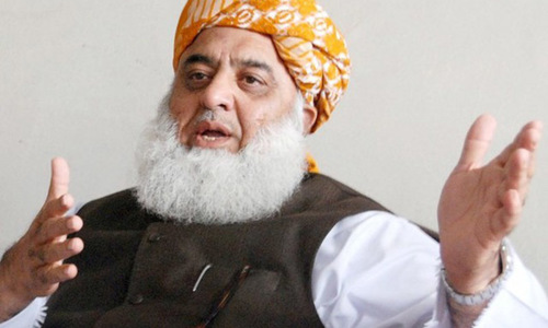 Fazl compares Fata situation with Kashmir