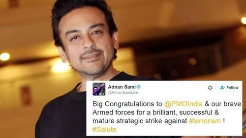ہندوستان کی حمایت پر عدنان سمیع مشکل میں