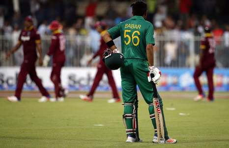 First ODI: Ton-up Azam lifts Pakistan to 284-9