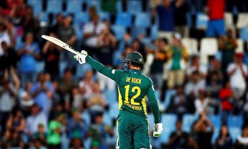 De Kock blasts South Africa to ODI win against Australia