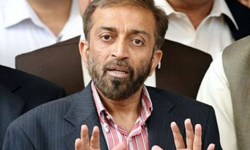 MQM's London leadership 'sacks' Farooq Sattar