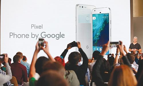 Google launches Pixel smartphone in hardware push