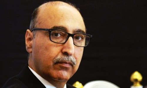 Basit calls for talks between Pakistan, India