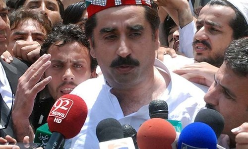 Ex-PTI minister Ziaullah Afridi released on bail