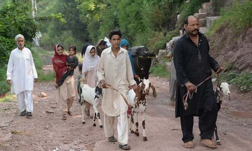 Villagers near LoC migrate to safer areas due to Indian firing on civilian population