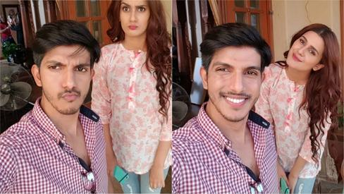 Na Maloom Afraad duo Mohsin and Kubra get together for TV drama Muqabbil