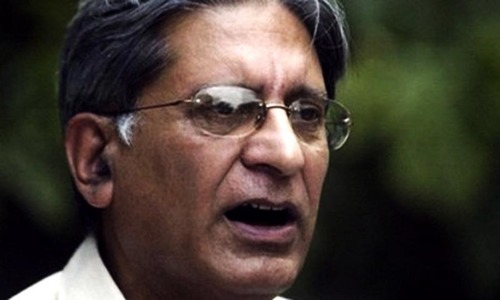 Pakistan isolated because it gives freedom to non-state actors, Aitzaz tells joint session