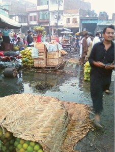 Fruit, vegetable market a picture of neglect