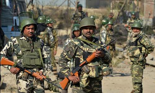 Indian forces battle suspected rebels as IHK govt compound siege runs into second day