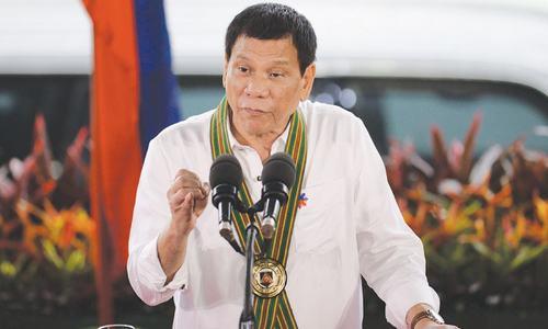 Little success beyond crime war for Philippine's Duterte