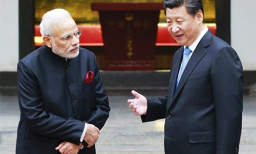 Modi, Xi differ over terrorism at BRICS summit