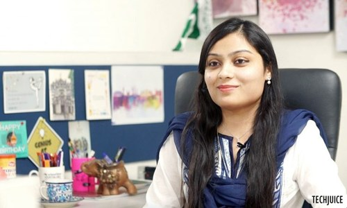Meet Sara Hassan, team lead and principal software engineer at 'NetSol'