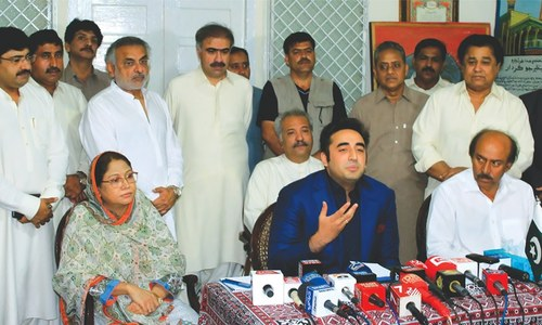 Anti-Nawaz drive if four points not accepted by Dec 27, says Bilawal