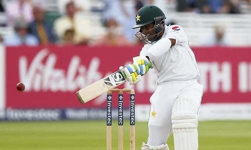 Shafiq leads Pakistan recovery in second Windies Test