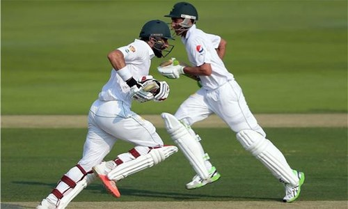Second Test: Younis, Misbah assert Pakistan dominance with 304-4 after day one