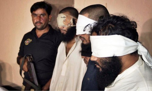 Four 'militants' involved in killing Shias, security officials arrested in Karachi