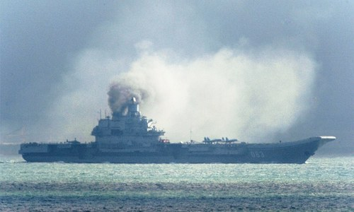 Nato concerned over major Russian naval deployment in Mediterranean