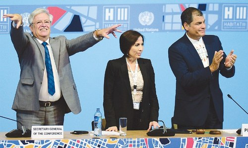 Nations agree on global road map to steer breakneck urbanisation