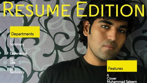 Curious about the Pakistani with the 28-page resume? Here's his story