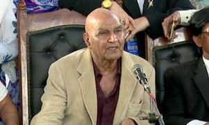 Rangers take into custody MQM London leader Dr Hasan Zafar Arif