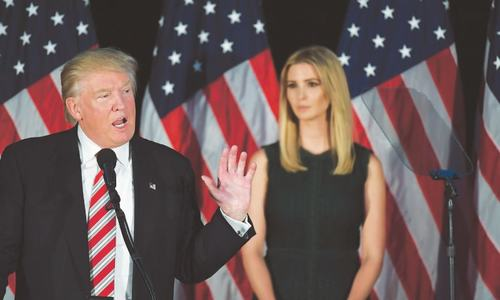 Ivanka Trump backs her father but doesn't want to fall with him