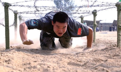 Chinese army shines in combat test