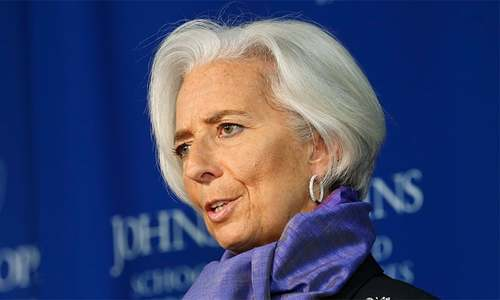 Pakistan out of economic crisis, says IMF's Lagarde