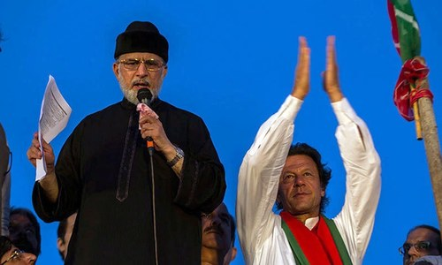 Tahirul Qadri decides to join PTI's protest in Islamabad on November 2
