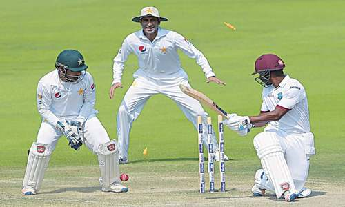 Pakistan on cusp of sealing WI series