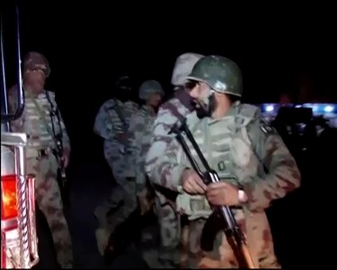 Terrorists storm police training center in Quetta, 12 injured