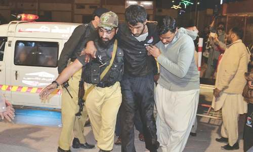 Militants storm police training centre in Quetta