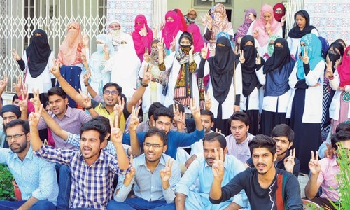 Aseefa college students perturbed over uncertain PMDC recognition