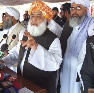 March on Islamabad bid to pressure SC: Fazl