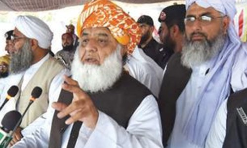 March on Islamabad bid to pressure SC: Fazl