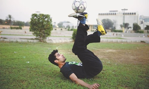 Freestyler Jawad Blunt looks to fulfil London dream