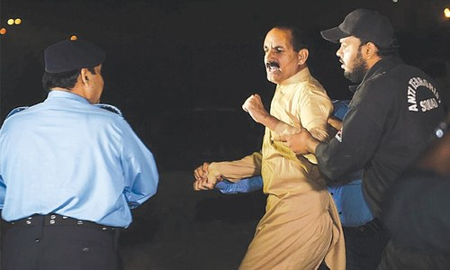 PTI on warpath after police action