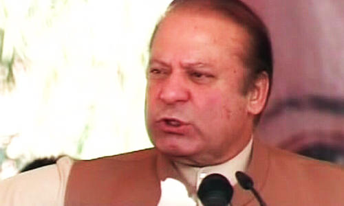 Nawaz launches Rs3.9 billion gas project in Kohat