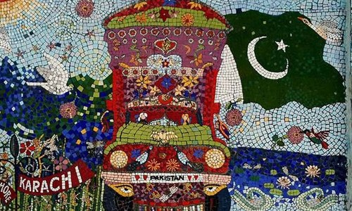 Muna Siddiqui's beautiful mosaic in Karachi is a call to recover a fading tradition