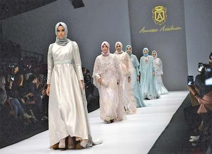 Indonesian designer's hijab collection proves divisive
