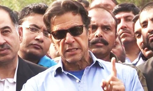 State machinery being used to hide PM's crimes: Imran