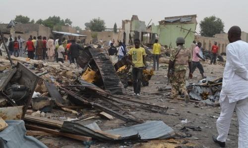 Two suicide bombers kill nine in Nigeria