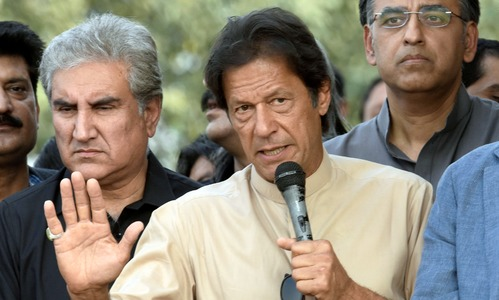 PTI's Nov 2 'lockdown' changed to 'thanksgiving' rally in Islamabad