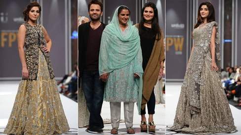 Mukhtaran Mai makes her highly awaited runway debut on Day 3 of FPW