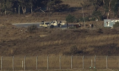 Welcome to Golan Heights, where Al Qaeda is helped out by Israeli troops