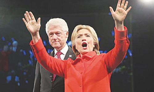 First Gentleman? Mr President? What to call Bill if Hillary wins?