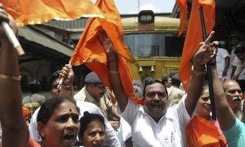 India's Hindu Sena celebrates Trump victory