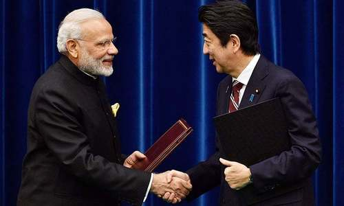 India, Japan sign civilian nuclear accord