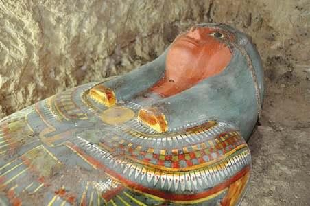 Millennia-old mummy found in Egypt tomb