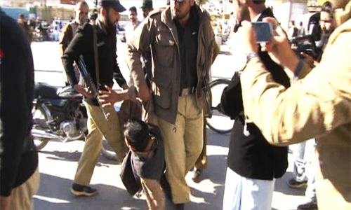Police manhandle disabled persons in Quetta